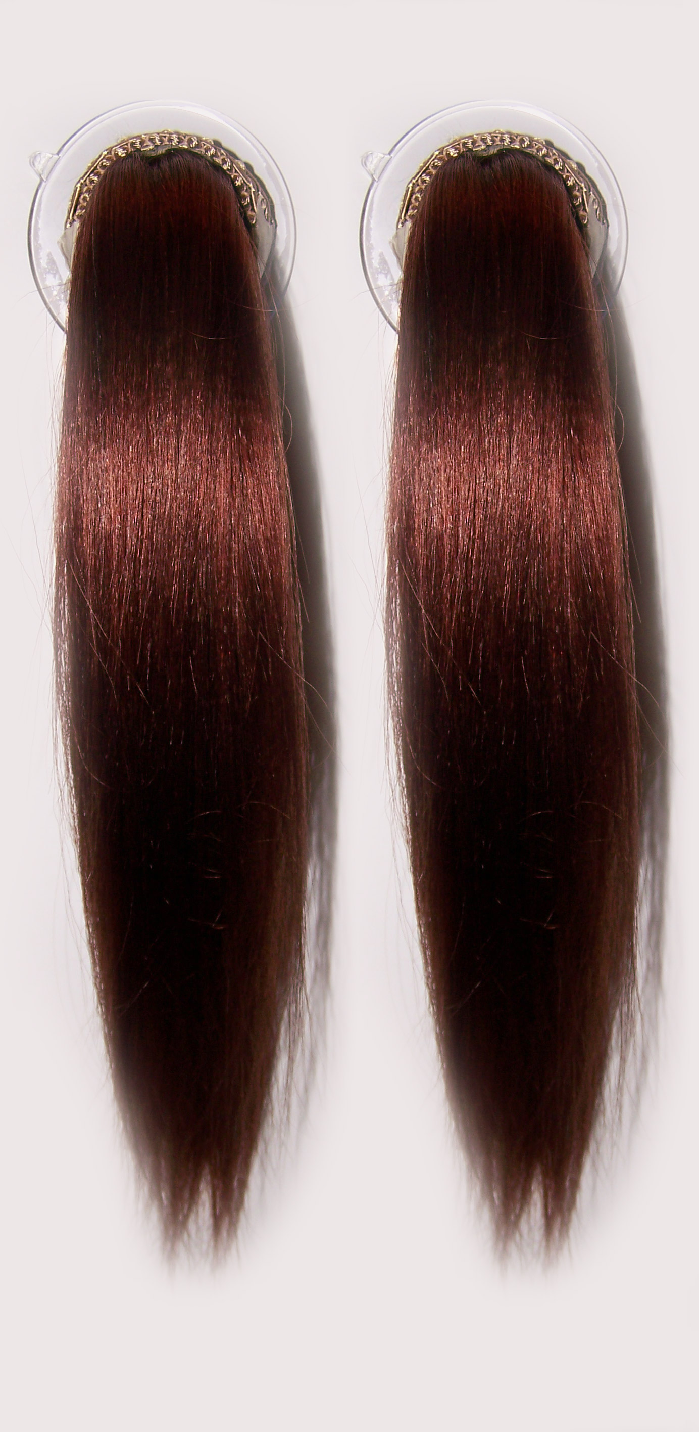 Reddish Brown Hair Color Chart